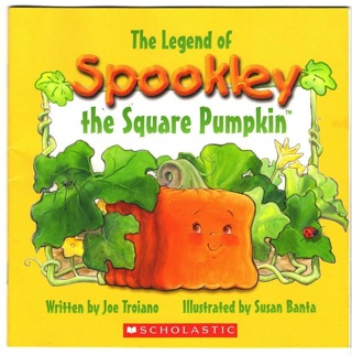 BRAND NEW! THE LEGEND OF SPOOKLEY THE SQUARE PUMPKIN (PAPERBACK)! FREE SHIPPING!