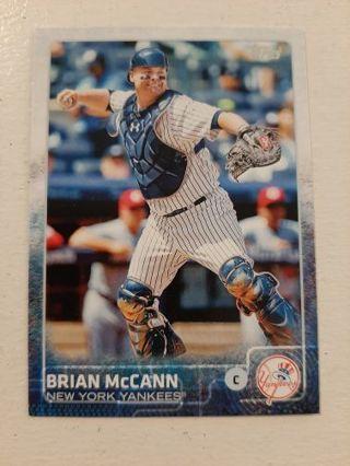2015 Topps Brian McCann