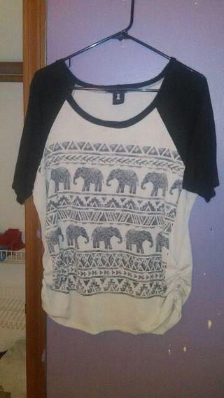 3xl Elephant blouse