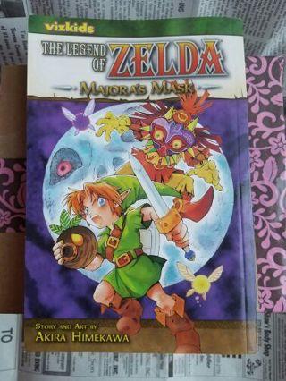 The Legend of Zelda Majora's Mask Manga