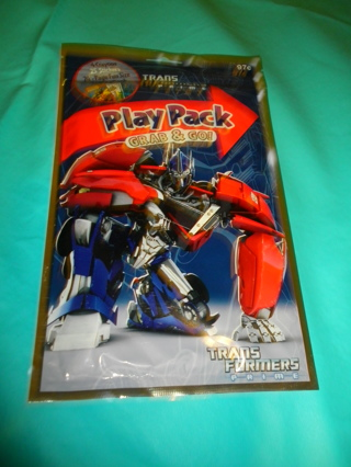 Brand New Transformers Play Pack #1