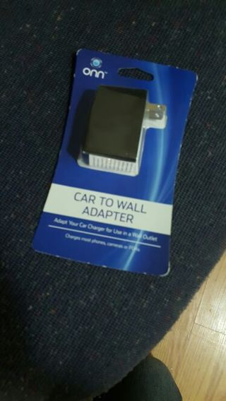 Adapt Car Charger to Wall Outlet w this Car to Wall Adapter