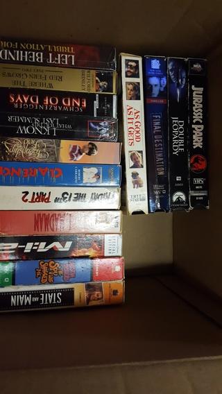 30 vhs movies