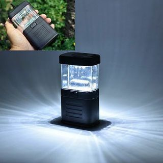 Mini Portable Super Bright 11 LED Camping Tent Lantern Fishing Light Lamp