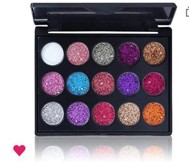Pro Glitter Eyeshadow Palette