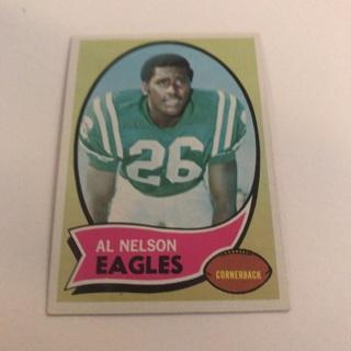 1970 Topps Al Nelson Card
