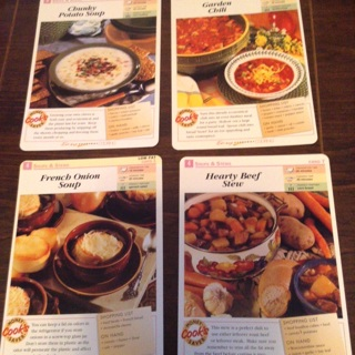 Easy Everyday Cooking Soup Recipe Cards