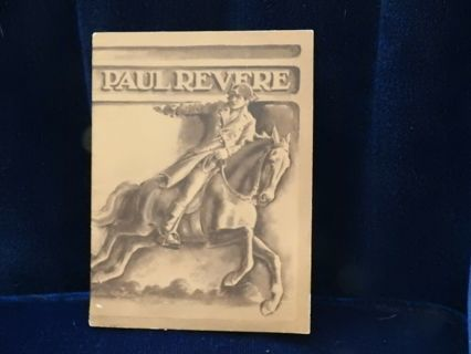 1930 paul revere booklet