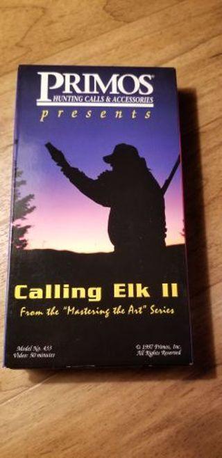 Calling elk VHS