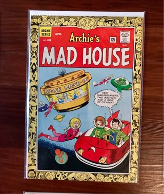 Archie's Mad House #46 12 cent Cover Silver Age Mint