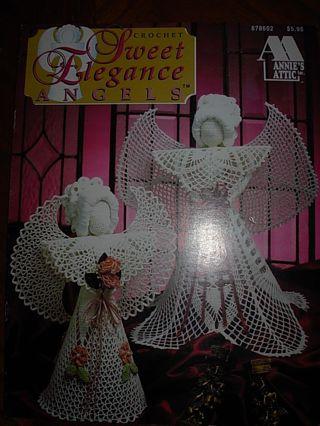 Free Annies Attic Sweet Elegance Angels Crochet Pattern