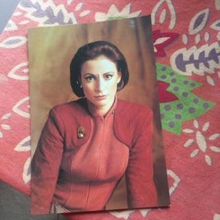 Star Trek postcard.