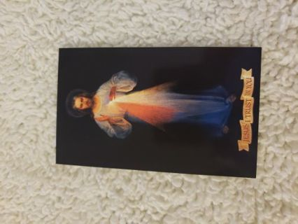 Divine mercy prayer card
