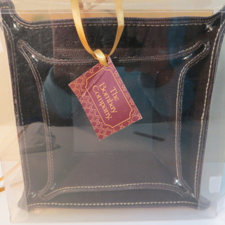 THE BOMBAY COMPANY SET OF 2 LEATHER LOOK COIN TRAYS