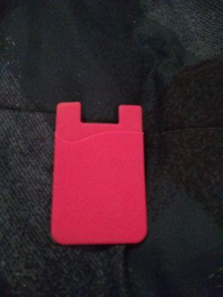 Cellphone card holder