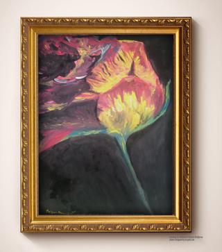 print of an  Original Painting