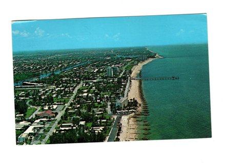 Vintage Used Postcard: 1971 Deerfield Beach, FL