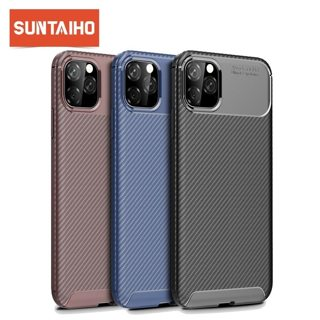 Carbon Fiber Case for iphone 11 Pro 5.8 inch 11Pro Max Non-slip Luxury Case for iPhone 11 11 Pro MAX
