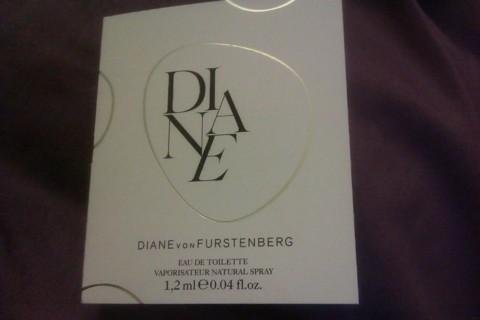 Diane vonFurstenberg Perfume Sample