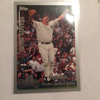 1999 TOPPS Opening Day: David Wells #160