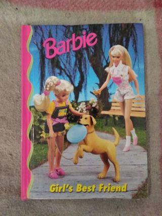 Brand New Book Barbie Girl's Best Friend