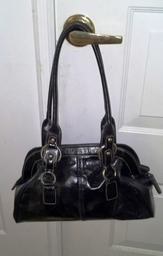 Black Handbag Peck Collection