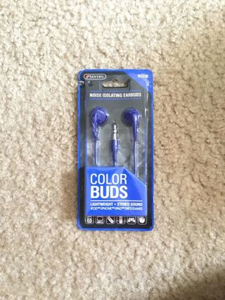 New In box Sentry Color Buds noise isolated earbuds,,WINNER  Gets 5 NEW & used Bonus Items
