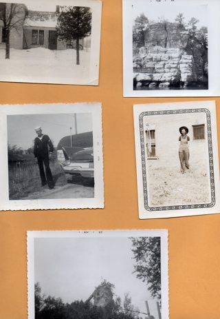Lot of 8 Vintage Black & White Photos as shown Lot # 18