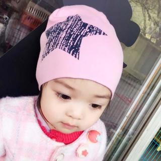 Brand Baby Hat Knit Cotton Cartoon Bear Batman Print Baby Caps For Boys Girls Spring Autumn Winter
