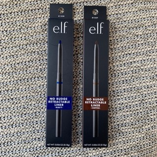 Two Brand New Elf No Budge Retractable Eyeliners