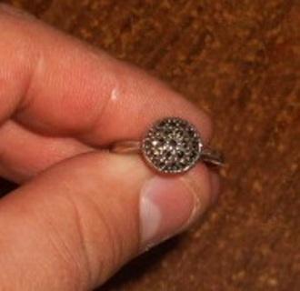 marquisite ring