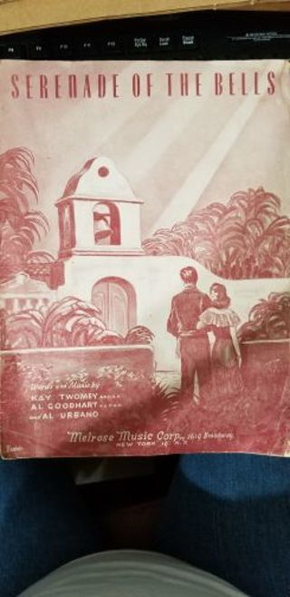 Serenade of the Bells vintage sheet music 1947