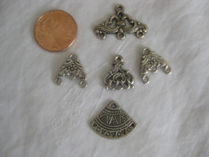 Chandeliers, jewelry supplies, 5 pcs