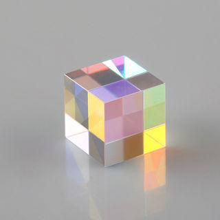 Defective Optical Galss RGB Prism X-CUBE For Physics Teach Decoration Art