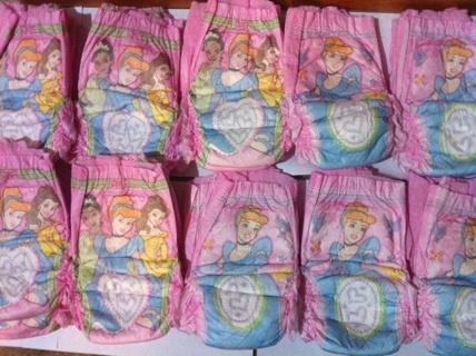 Free 10 Huggies Pull Ups Princess Diapers W Cinderella 2t