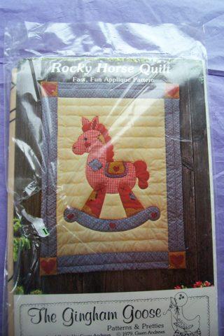 Free Rocking Horse Quilt Pattern Needlecraft Listia