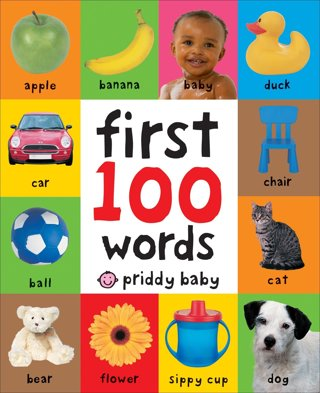 "☺~ WOW Brand New "" First 100 Words Board Book "" PERFECT FOR YOUR BABY/TODDLER ~☺"