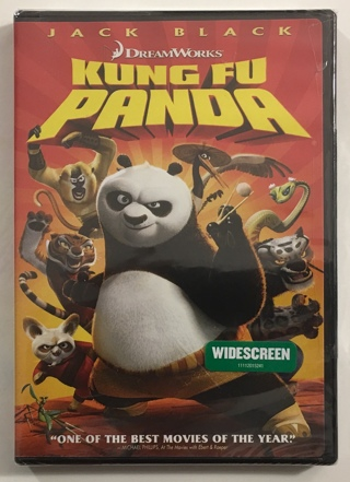 Kung Fu Panda DVD DreamWorks Movie - Brand New Factory Sealed!