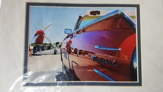 Vintage Classic Car/Hot Rod matted 5x7 photograph Chevrolet, Dodge, Ford , Plymouth..