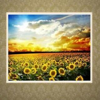 Sunflower 5D Full Drill Diamond Painting Embroidery Cross Stitch KitsCraft