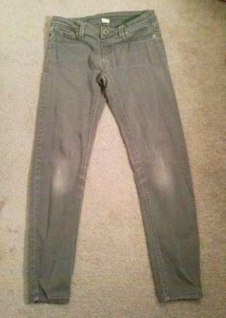 1 Pair grey jeans skinny