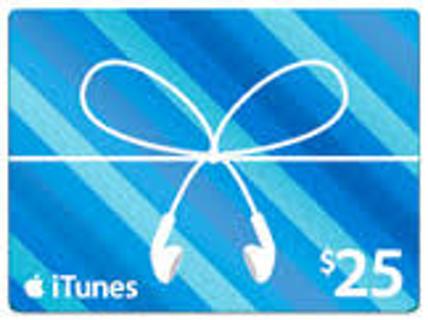 $25 iTunes Card