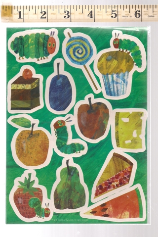The Very Hungry Caterpillar Sticker Pack - Eric Carle