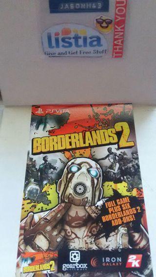 Borderlands 2 (dlc) PlayStation vita