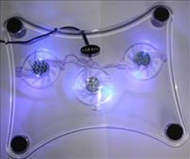 $$$ 3 fan laptop cooling pad ******