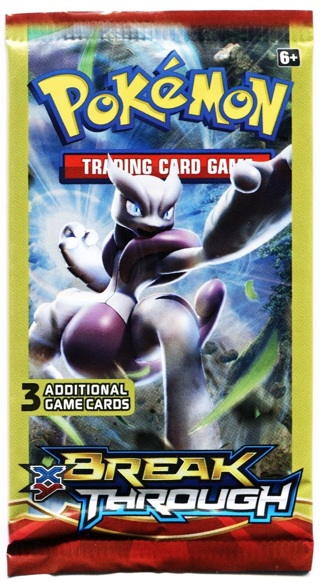 NEW Pokemon XY BREAKthrough Booster Pack Pokemon Cards TCG Cards Mewtwo Pack Hobbies Collectibles