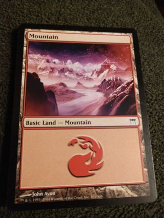 MTG Mountain 301/306