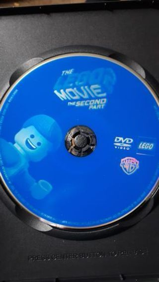 THE LEGO MOVIE 2 DVD DISC ONLY