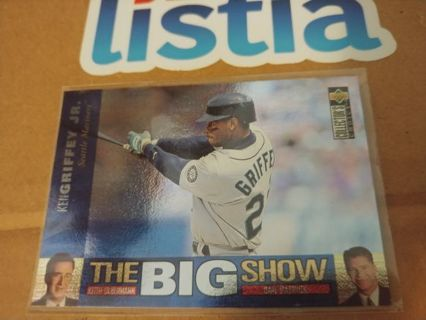 "KEN GRIFFEY JR⭐SEATTLE MARINERS⭐1997 UPPER DECK⭐""THE BIG SHOW"" INSERT⭐ FREE $HIPPING"