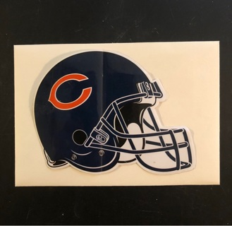 Sticker* Chicago Bears Jumbo NFL Sticker